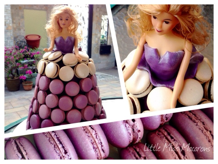 Dreaming of a Macaron Dress  (how to make a macarontower)