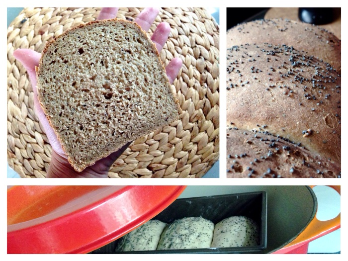 Pushing to the limit …. (gluten free bread with brown rice protein & groundflaxseed)