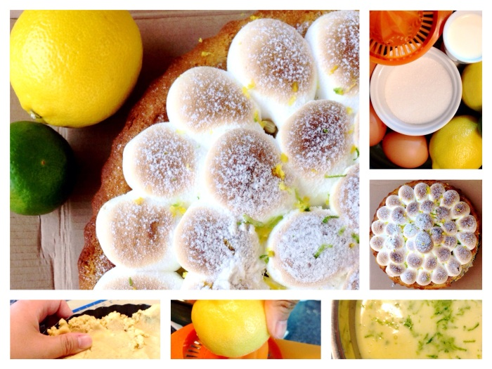 A Classic Never Fails (Lemon Lime Meringue Pie) – except the cheat gluten free pastrybase.