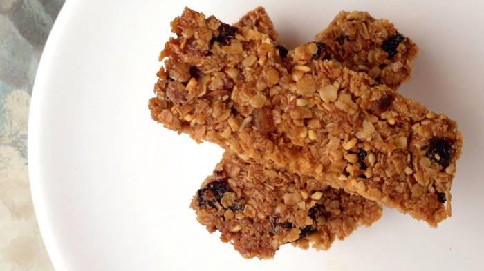 Flapjacks are uncool? Let's change their point of view!       (Gluten free Dairy Free oat bars with coconut oil and othergoodies)