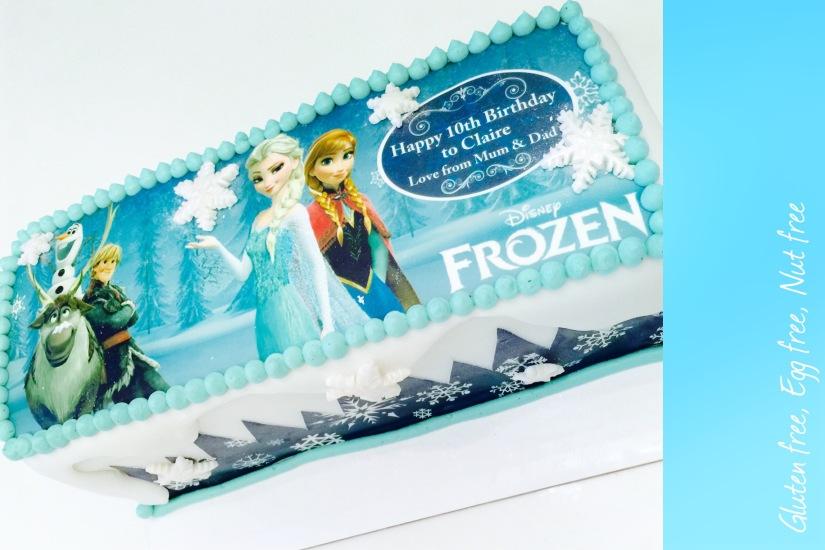 frozen cake gliuten free egg free nut free