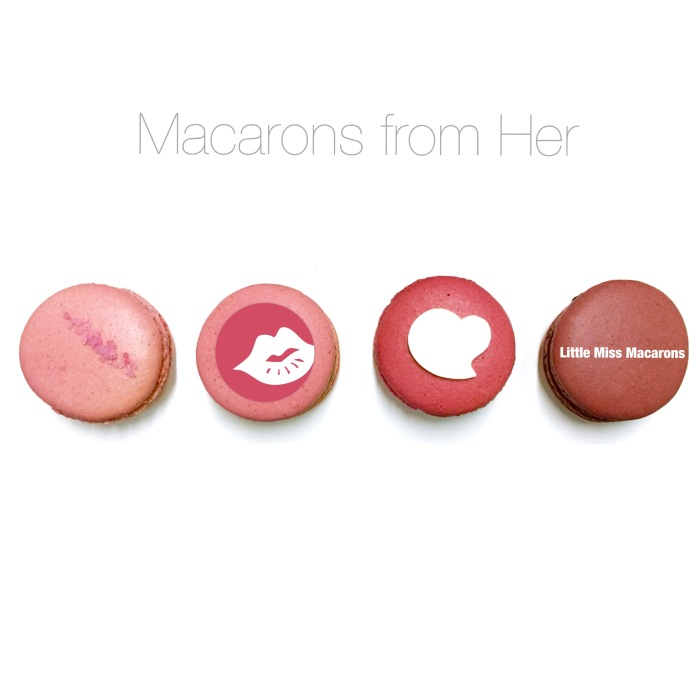 Valentine's Day Macarons – with 'hidden message' from you – handmade in Hong Kong